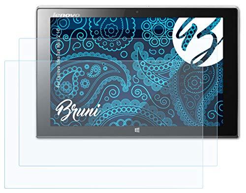 Bruni Schutzfolie kompatibel mit Lenovo IdeaTab Miix 2 10 Folie, glasklare Bildschirmschutzfolie (2X)