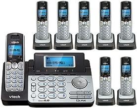 Vtech DS6151 Base with 7 Additional DS6101 Cordless Handsets Bundle