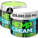 (2 Pack) Hemp Cream for...