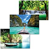 GREAT ART 3er Set XXL Poster – Thailand Bilder –
