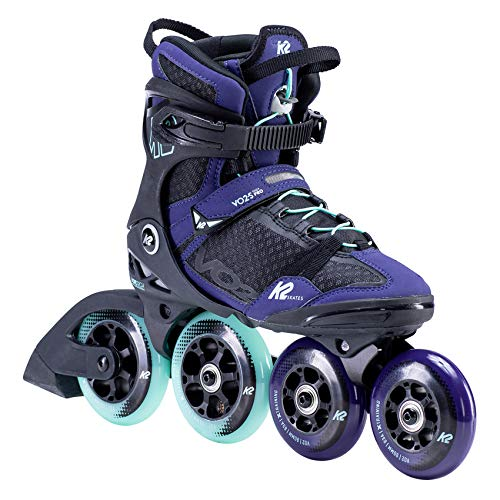 K2 Inline Skates VO2 S 100 W Für Damen Mit K2 Softboot, Purple - Teal, 30F0165