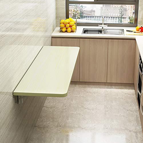 Mesas para ordenador Mesa de hojas abatibles montada en la pared para espacios pequeños, mesa de comedor plegable para cocina, mesa de oficina en casa, mesa de trabajo, escritorio para computadora,