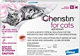 Cheristin for Cats Topical Flea Treatment – Effective Through 6 Weeks, 6 Doses