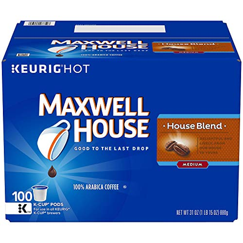 Maxwell House, House Blend Coffee (100 K-Cups)