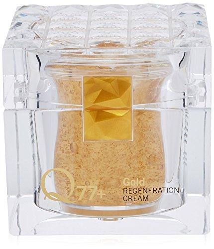 Q77+ Gold Regenerator Cream - Crema hidratante, nutritiva y antiedad, 250 ml