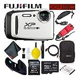 Fujifilm FinePix XP130 Waterproof Digital Camera 600019827 (White)...