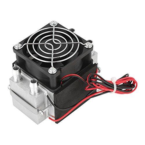 refrigeración por semiconductores, refrigeración por semiconductor electrónico de 12 V 240 W con 2 chips, sistema de enfriamiento de aire DIY, mini refrigerador de aire acondicionado, refrigeración po