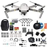 DJI Mavic Pro Platinum Fly More Combo Collapsible Quadcopter...