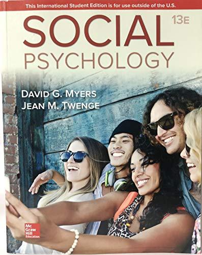 Myers, D: ISE Social Psychology