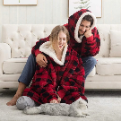 Pull Plaid   Sweat Confortable et Cosy