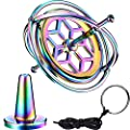 Norme Gyroscope Metal Anti-Gravity Spinning Top Gyroscope Balance Gift Colorful from Norme