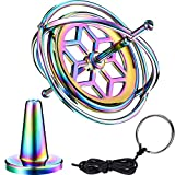Norme Gyroskop Metall Anti-Schwere Spinnen Top Gyroskop Balance Spielzeug Pädagogisch Geschenk Bunt