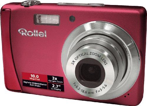 Rollei Compactline 102 - Cámara Digital Compacta 10 MP - Rojo