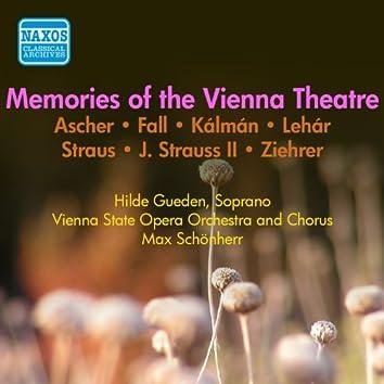 Memories Of Old Vienna Theatre (Gueden) (1954)