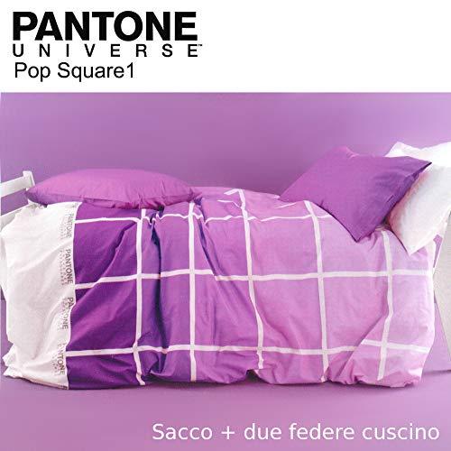 Bassetti Parure Copripiumino Matrimoniale 250X200+40 Art. P340 escluso sotto angolare + tavoletta Profumo Biancheria per armadi by biancocasa