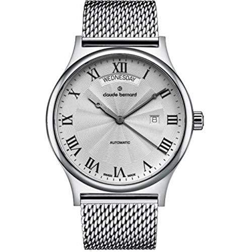 Claude Bernard by Edox Classics automatico Swiss Made orologio da uomo...