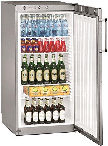 Liebherr FKvsl 2610PREMIUM autonome Silber Kühlschrank Getränkespender–Kühlschränke Getränkespender (autonome, silber, 5Einlegeböden, rechts, R600a, 240l)