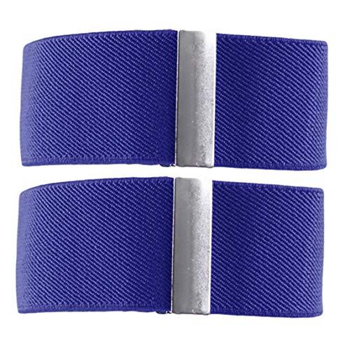 Hengxing kreative praktische Männer Hemd Manschetten Manschetten Anti-Rutsch-elastische elastische Gummiband Kleidung Zubehör