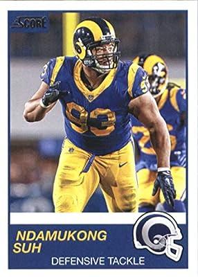 2019 Score #303 Ndamukong Suh LA Rams NFL Football Card NM-MT