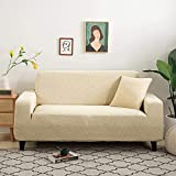 L.TSA Funda Antideslizante Impermeable para sofá para Perros, Mascotas, Tejido Grueso para Sala de Estar, Fundas en Forma de L, Protector de sillón, 7_145-185cm, Funda para sofá, Tela Repelente al