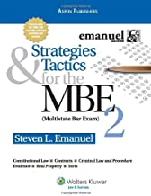 Strategies & Tactics for the MBE Volume Ii