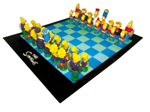 United Labels Simpsons 3D Chess Character Game