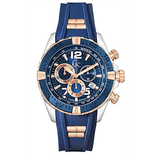 Guess - Gc by Reloj Hombre Sport Chic Collection Sport Racer cronógrafo y02009g7