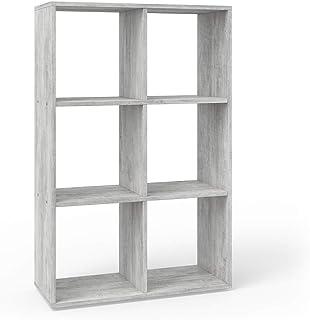 Vicco Separador de ambientes 6 Compartimentos - Separador de Habitaciones estantería Separador Organizador con estantes es...