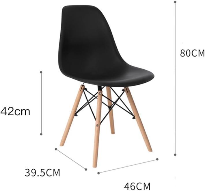 HXF- Chaise Moderne Minimaliste de Loisirs en Bois Massif Durable (Color : A) C