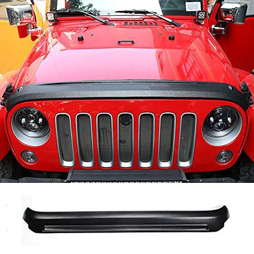 YYD Auto Hood Vento Pietra deflettore Protector per 2007-2017 Jeep Wrangler