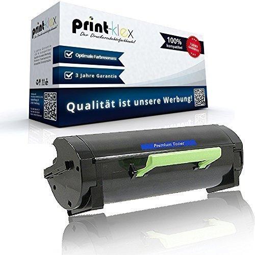 Kompatible XL Tonerkartusche für ca. 5.000 Seiten für Lexmark MS310d MS310dn MS410d MS410dn MS510dn MS610de MS610dn MS610dte 50F2H00 502H 50F2000 502