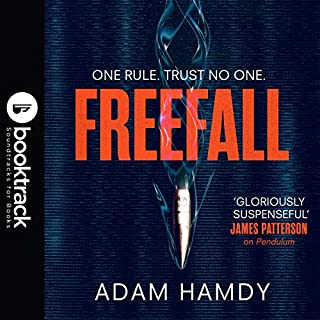 Freefall audiobook cover art