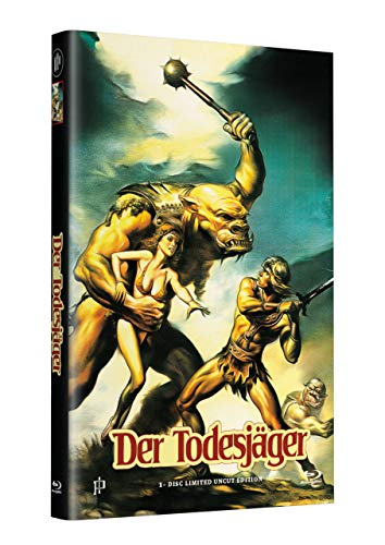 DEATHSTALKER - Der Todesjäger - Hartbox (gross) Cover A [Blu-ray] Limited 50 Edition - Uncut