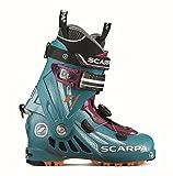 Chaussures Ski Rando Scarpa F1 Femme Artic Bleu