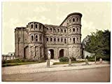 Photo Trier Porta Nigra Moselle valley of A4 10x8 Poster