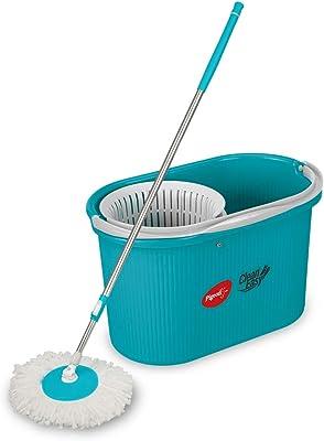 Pigeon by Stovekraft Clean Easy Striker Spin Mop, Aqua Green, Medium