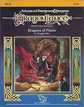 DL2 Dragons of Flame - Book  of the Advanced Dungeons and Dragons Module #C4