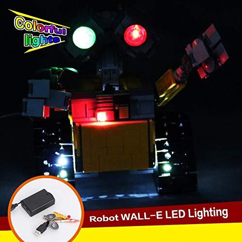 Juego De Luces LED Para El Modelo De Bloques De Construcción (pared De Ideas E) - Kit De Luces LED Compatibles Con Lego 21303 (NO Incluido El Modelo)