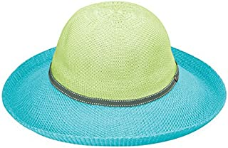 Women's Victoria Two-Toned Sun Hat – UPF 50+, Packable, Lined, Modern Style, Designed in Australia.