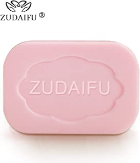 ZUDAIFU 2 Pieces Sulfur Eczema Psoriasis Soap Shower Body Cleanser Skin Health Antibacterial Stop Itching Bar Bathroom Kit for Family