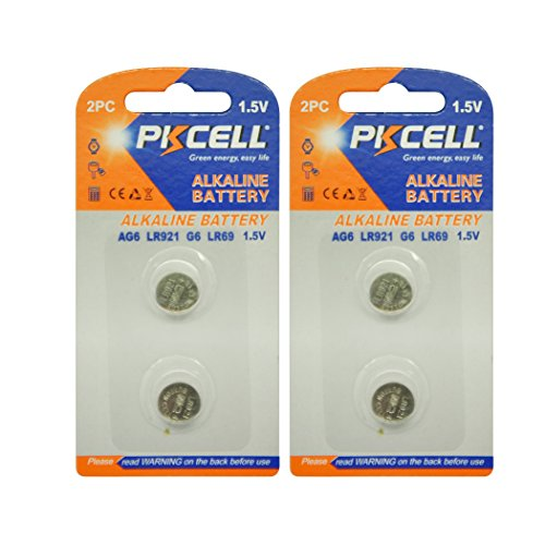 371 SR920SW AG6 GP371) SR927 171 370 L921 LR69 SR920 1,5 V 32 mAh Button Knopfzelle für Armbanduhr (20 Stück)