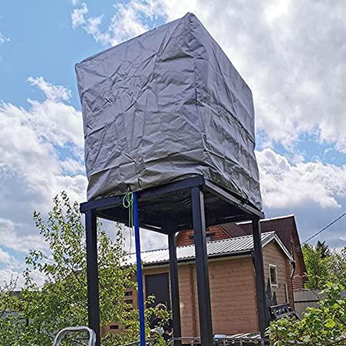 Chytaii Protector de Depósito de Tanque de Agua Lona para Depósito de Agua Cubierta de Protección del Tanque de Agua, Protección contra el Polvo y Protección Solar, Paño de Oxford Impermeable