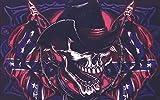 UB Fahne/Flagge Piraten Cowboy Totenkopf Skull 90 cm x 150 cm Neuware!!!