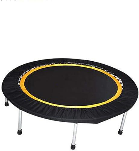 para barato QZ QZ QZ Fitness Trampoline Trampolín Plegable Seguridad Durable Fácil Montaje - negro (Color   negro, Talla   48 Inches)  disfrutando de sus compras