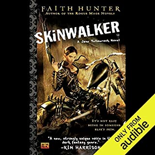 Skinwalker     Jane Yellowrock, Book 1              Written by:                                                                                                                                 Faith Hunter                               Narrated by:                                                                                                                                 Khristine Hvam                      Length: 14 hrs and 29 mins     15 ratings     Overall 4.5