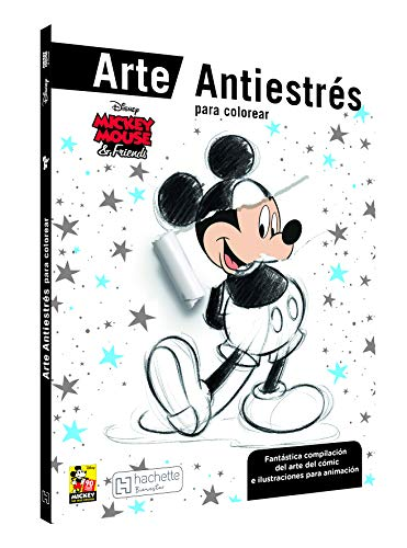 Mickey and Friends arte antiestrés