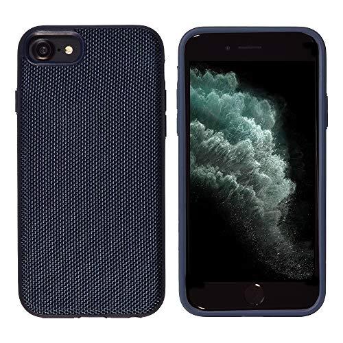 Glasfaser Extrem Schutzhülle von iShield Hülle für iPhone 8/7/6S/6 MODERNES Design UND ULTIMATIVER Schutz (Blau)