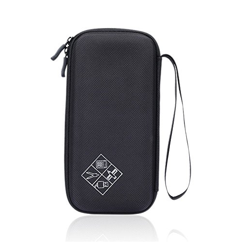 For Graphing Calculator Texas Instruments TI-84 / Plus CE 83 85 Hard Carrying Case Travel Bag Protective Pouch Box -Extra Room for Pen and Accessories?Black?