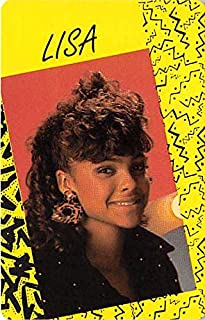 Lark Voorhies Lisa Turtle trading game card Saved by the Bell #51 Size 2x3 inches