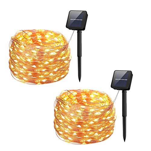 Christmas String Light, 72ft 200LED Solar Lights Outdoor Garden 8 Modes Waterproof Solar String Lights